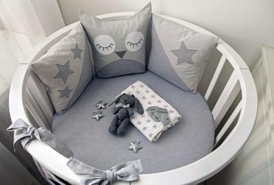 So sieht eine moderne Babywiege aus