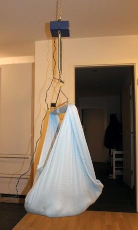 Die hängende Babywiege von Swing2sleep
